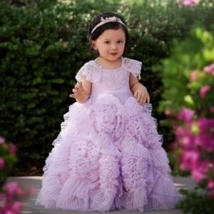 Dollcake Best Wishes my lilac frock dress gown 4